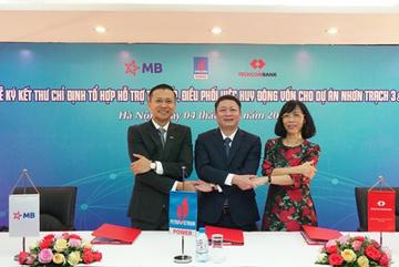 Ngân hàng MB tham gia thu xếp vốn cho Dự án điện khí Nhơn Trạch