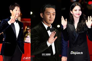 LHP Busan 2021: Song Joong Ki chạm mặt 'bạn thân cũ' sau khi ly hôn Song Hye Kyo