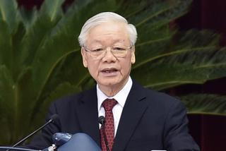 Tổng Bí thư: Từng ủy viên Bộ Chính trị phải gương mẫu, nói đi đôi với làm