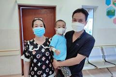Bé 4 tuổi bị nhiễm trùng huyết, viêm phổi nặng được chữa khỏi