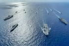 Việt Nam lên tiếng việc tàu chiến Anh và New Zealand cùng vào Biển Đông