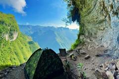 Cắm trại giữa cheo leo vách đá Hà Giang, ngắm trọn đèo Mã Pí Lèng và sông Nho Quế
