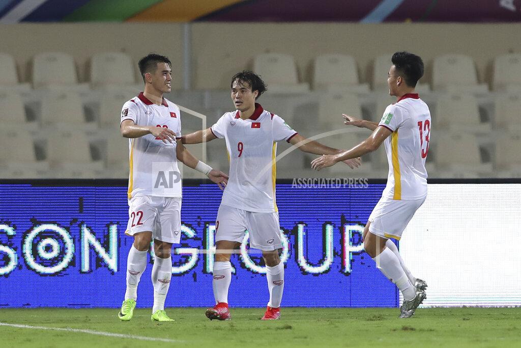 Lịch thi đấu của ĐT Việt Nam ở vòng loại thứ 3 World Cup: 2 trận sân nhà liên tiếp