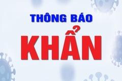Hà Nội thông báo khẩn tìm người đến AEON Mall, cửa hàng VinmartLê Trọng Tấn