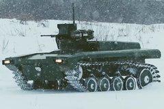 Xem Nga thử nghiệm người máy vũ trang thế hệ mới