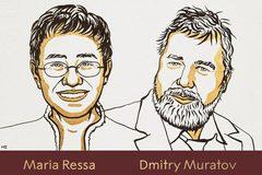 Nobel Hòa bình 2021 vinh danh 2 nhà báo Nga, Philippines