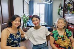Khả Ngân đến thăm gia đình Thanh Sơn hậu đóng máy phim '11 tháng 5 ngày'