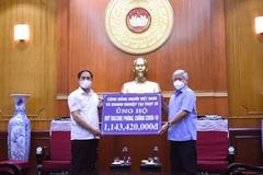 Vietnamese expatriates donate VND3 billion more to COVID-19 fight
