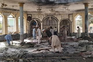 Nổ lớn ở đền thờ Afghanistan, ít nhất 100 người thương vong