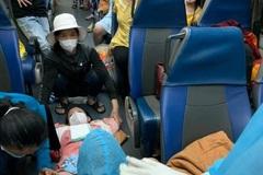Bà bầu 'vượt cạn' trên chuyến tàu nghĩa tình rời TP.HCM về Quảng Bình