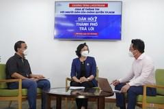 Dân hỏi thành phố trả lời: Phó Chủ tịch TP.HCM giải đáp về khôi phục kinh tế