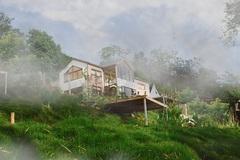 Cô gái rời Thủ đô, về Cao Bằng dựng ngôi nhà gỗ cheo leo bên sườn núi đẹp mê hồn