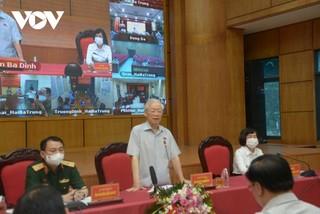 Tổng Bí thư mong muốn cử tri đóng góp nhiều ý kiến tâm huyết với cả nước, với Thủ đô