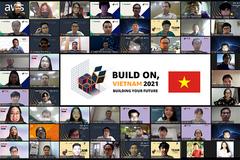 """Giải pháp tăng hiệu quả dạy và học online giành quán quân """"Build on, Vietnam 2021"""""""
