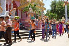 Sen Dolta Festival: Khmer grateful to their benefactors