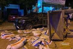 Tai nạn liên hoàn ở Quảng Trị, một người tử vong tại chỗ