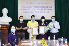 NSND Tự Long nhận giải thưởng của Hội nghệ sĩ sân khấu