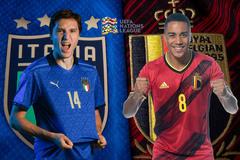Italy vs Bỉ: Chiến thắng cho Thiên thanh