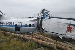Rơi máy bay ở Nga, 16 người thiệt mạng