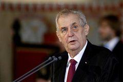 Tổng thống Séc nhập viện cấp cứu sau họp kín với thủ tướng
