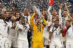 Benzema, Mbappe giúp Pháp vô địch Nations League