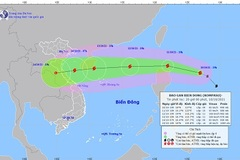 Kompasu moves closer to East Sea, bringing torrential rains to many areas