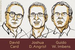 Ba giáo sư đại học Mỹ chia nhau giải Nobel Kinh tế 2021