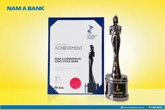 Nam A Bank nhận giải 'Nơi làm việc tốt nhất châu Á 2021'