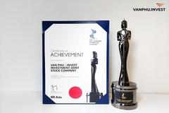 Văn Phú - Invest nhận giải 'nơi làm việc tốt nhất châu Á'