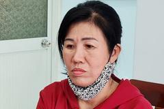 Người phụ nữ đánh thiếu tá công an khi bị xử lý vi phạm chống dịch