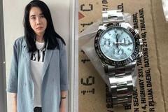 Kiều nữ đánh tráo đồng hồ Rolex tiền tỷ của người tình đại gia