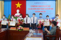 Nhiệt điện Duyên Hải nhận danh hiệu Doanh nghiệp vượt khó giai đoạn 2020-2021