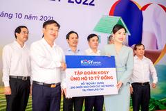 Tập đoàn Kosy ủng hộ 10 tỷ đồng xây nhà cho hộ nghèo Lào Cai