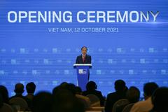 Tổng Thư ký Liên minh Viễn thông Quốc tế Houlin Zhao phát biểu tại ITU Digital World 2021