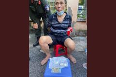 Người đàn ông 5 tiền án 'ôm' ma túy phóng xe máy thông chốt 141