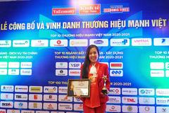 Techcombank vào top 10 Thương hiệu mạnh Việt Nam 2021