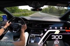 Xem SUV hạng sang Audi RS Q8 ga nhẹ đã lên 300 km/h