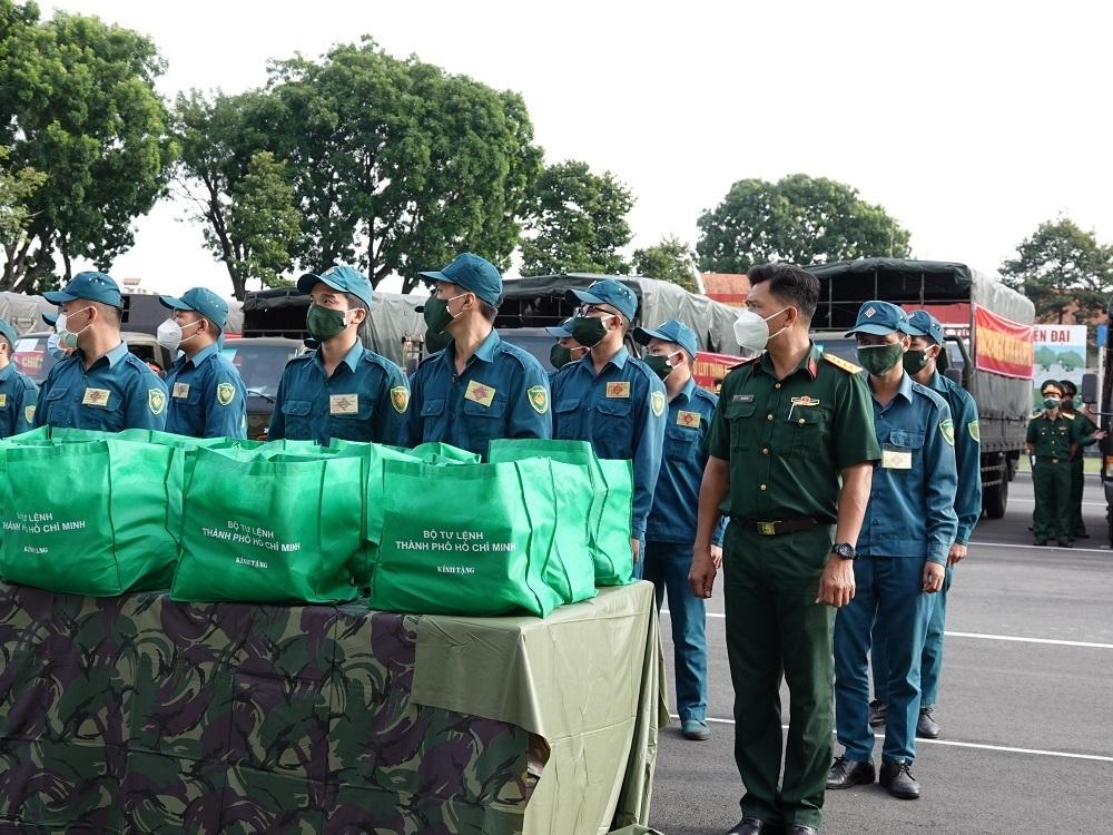 Lực lượng quân đội tăng cường cho TP.HCM rút quân từ hôm nay