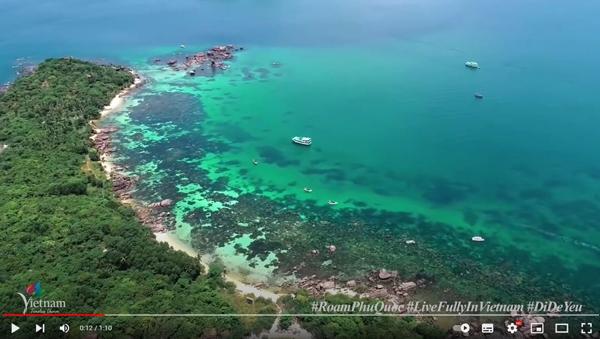 Đảo ngọc Phú Quốc 'đốn tim' du khách trong 60 giây quảng bá du lịch
