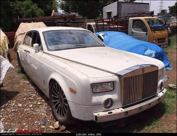 5 chiếc siêu sang Rolls-Royce bị vứt bỏ không thương tiếc như rác