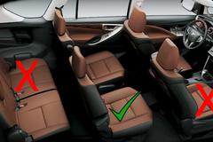 Năm lý do giải thích vì sao đây lại là chỗ ngồi VIP nhất trên ô tô