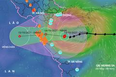 Bão số 8 vào Vịnh Bắc Bộ, hướng thẳng tới Thanh Hóa đến Quảng Bình