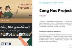 Nền tảng học online cho giáo viên nhận giải Sáng kiến Đổi mới giáo dục toàn cầu