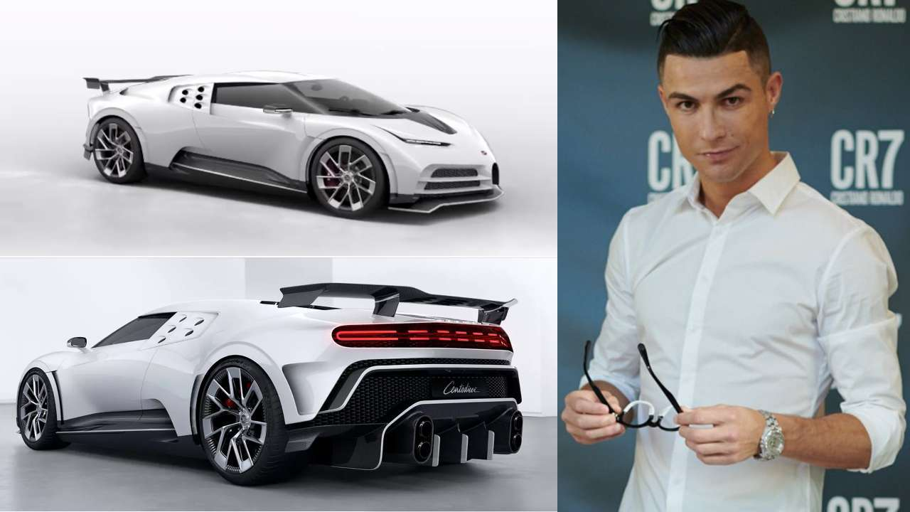 Ronaldo chi 9,5 triệu euro mua siêu xe phiên bản giới hạn
