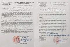 Thêm 4 xã ở TT-Huế xác nhận Thủy Tiên đến trao tiền từ thiện