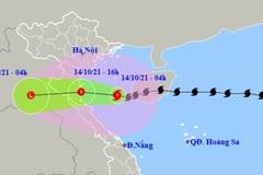 Typhoon Kompasu weakens, nears central coast of Vietnam