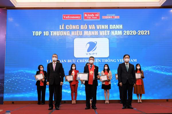 VNPT vào top 10 Thương hiệu mạnh Việt Nam