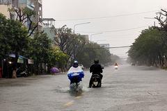 Bão số 8 tan, miền Trung tiếp tục đối mặt mưa to đến rất to