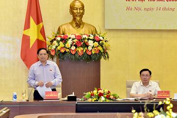 Thủ tướng cảm động trước sự đồng hành, chia sẻ của Quốc hội