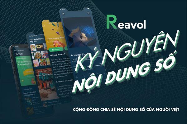 Thỏa thích sáng tạo nội dung, đọc sách online với Reavol